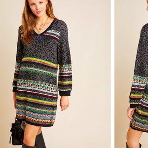 Anthropologie NWT Viviana Sweater Dress Size SP.